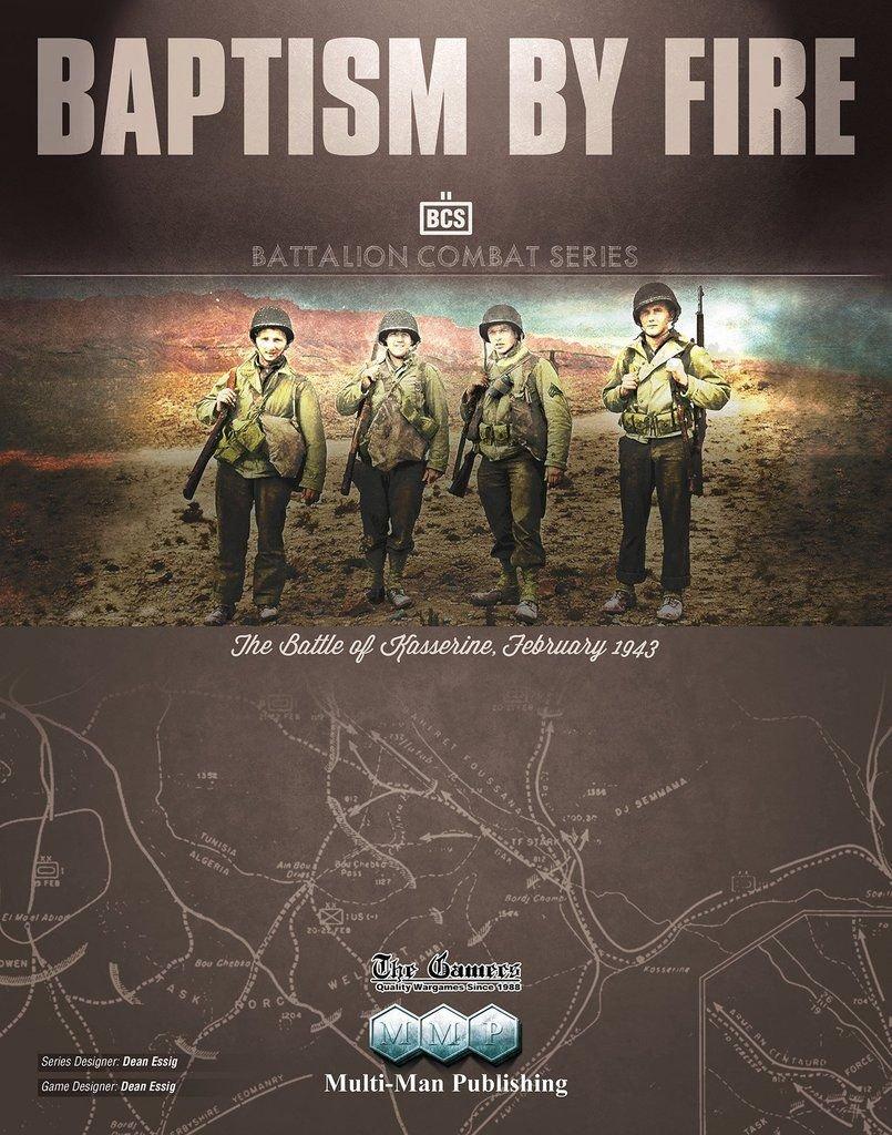 MMP  Baptism By Fire  The Battle of Kasserine