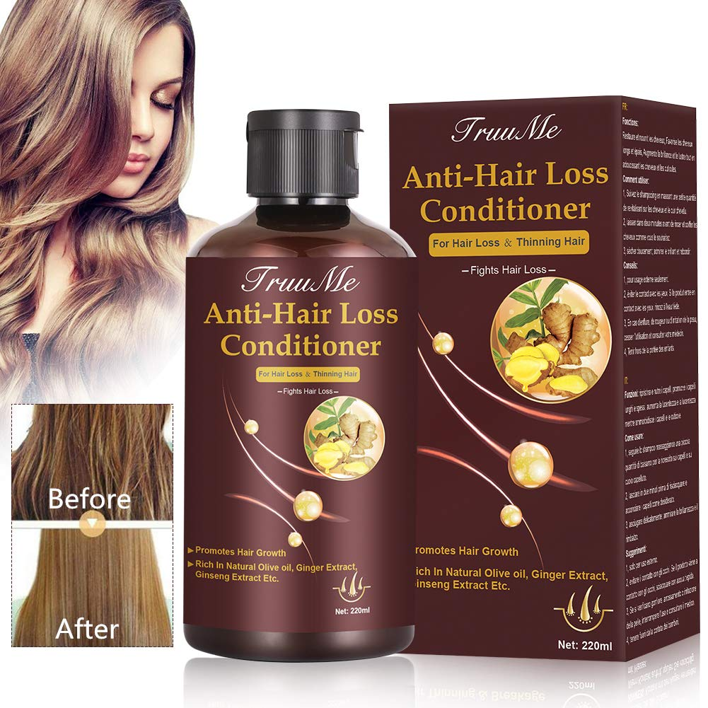 Hair Regrowth Conditioner, Hair Treatment Mask, Hair Thickening Conditioner, Hair Mask for Hair Growth, Anti-Hair Loss Conditioner, Natural Fine Hair Volumizing Deep Treatment, Suitable for Dry & Dama by CIDBEST