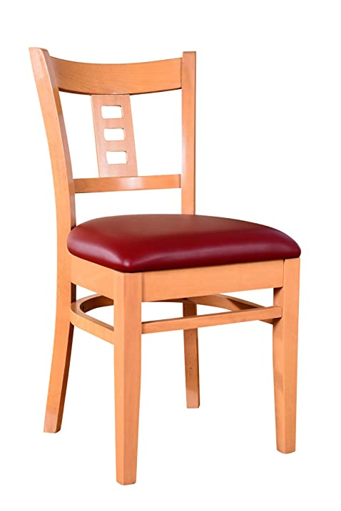 Beechwood Mountain BSD 27S N Solid Beech Wood Side Chairs In Natural For  Kitchen