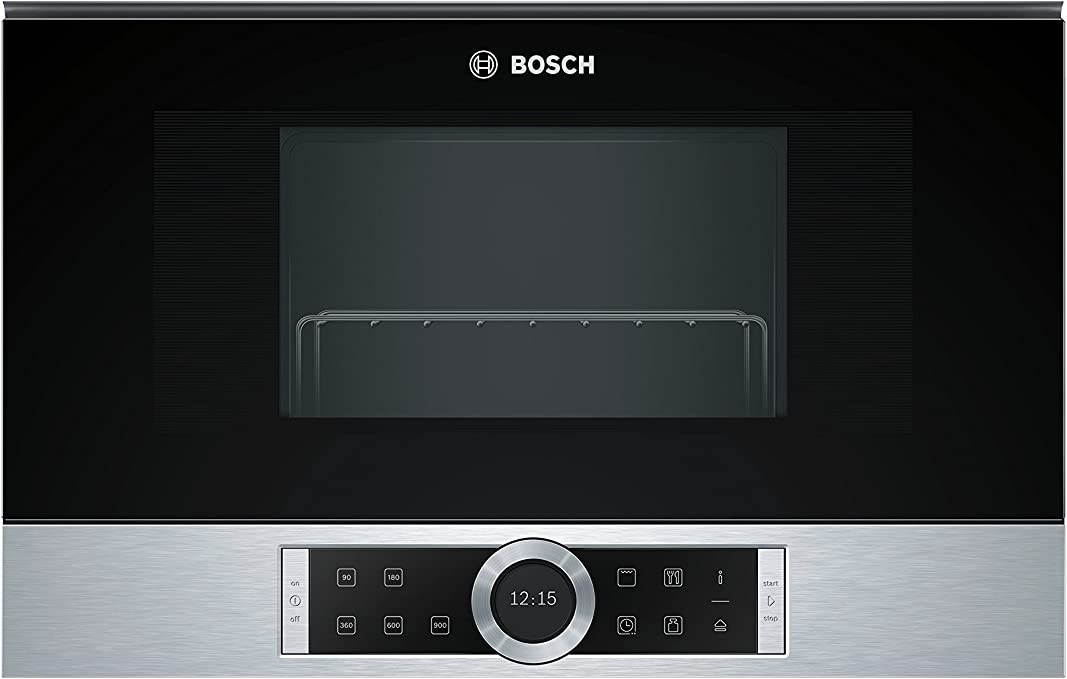 Bosch BEL634GS1 Serie 8 - Microondas integrable / encastre, 21 L ...
