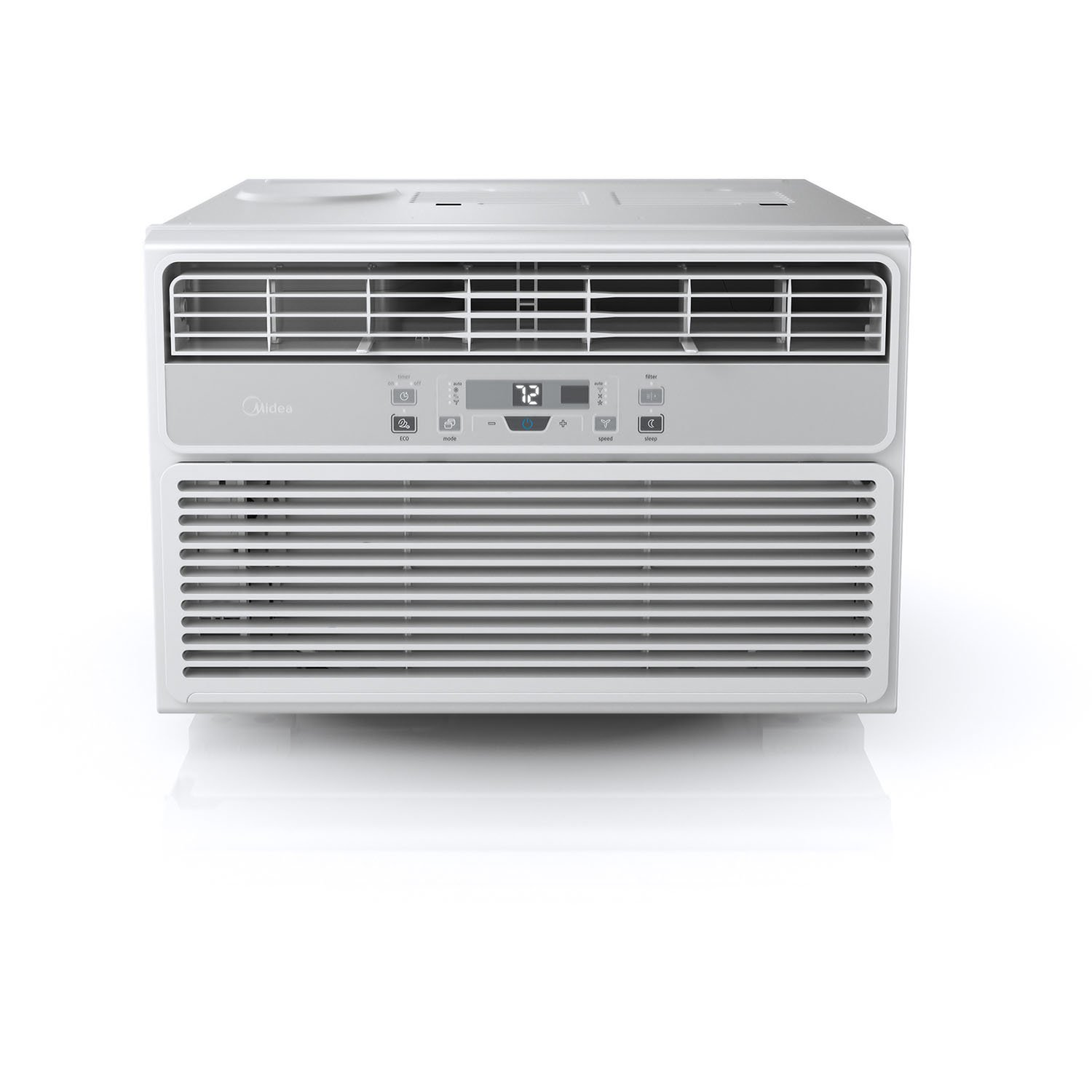 MIDEA Easy Cool 6,000 BTU Window Air Conditioner with Follow Me Remote Control
