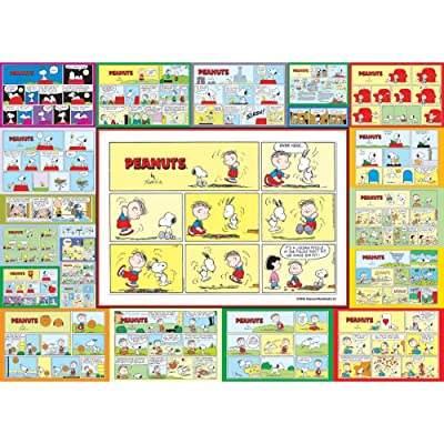 The Jigsaw Puzzle Factory Peanuts Snoopy Comics 1000 Piece Jigsaw Puzzle - 26.75 X 19.25 Inches, Multi-Colored: Toys & Games