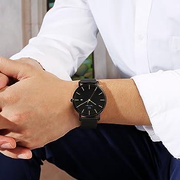 Vigor Rigger Reloj de Cuarzo para Hombre y Mujer, Reloj de Pulsera ...