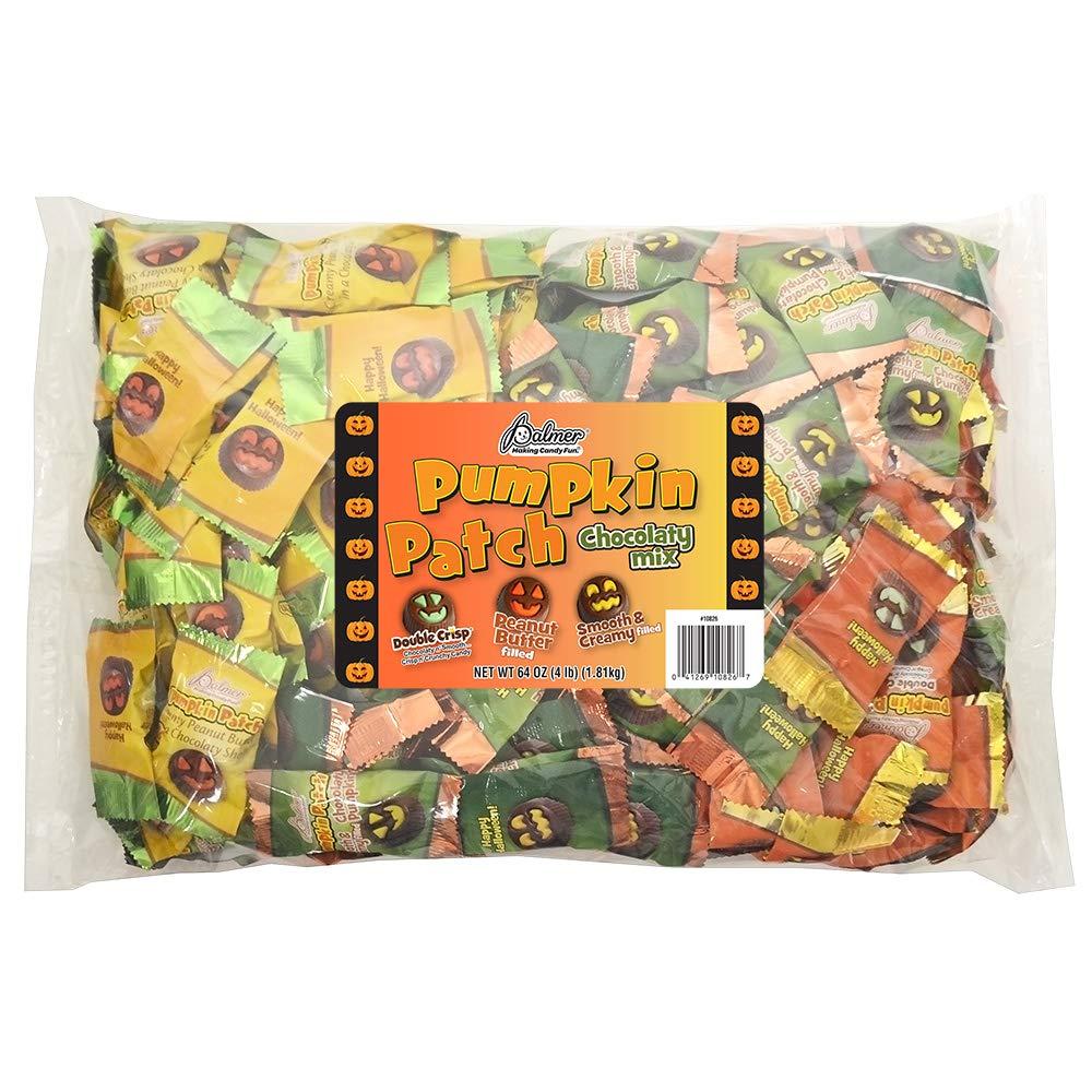 CDM product R.M. Palmer Pumpkin Patch Mix - Bulk Bulk Bag, Fun Sized Kid Friendly Halloween Pumpkin Themed Treats, Candy, and Snacks (4 LB) big image