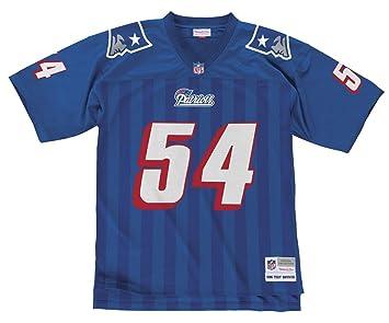 online retailer 00bd2 52157 Mitchell & Ness Tedy Bruschi New England Patriots NFL ...