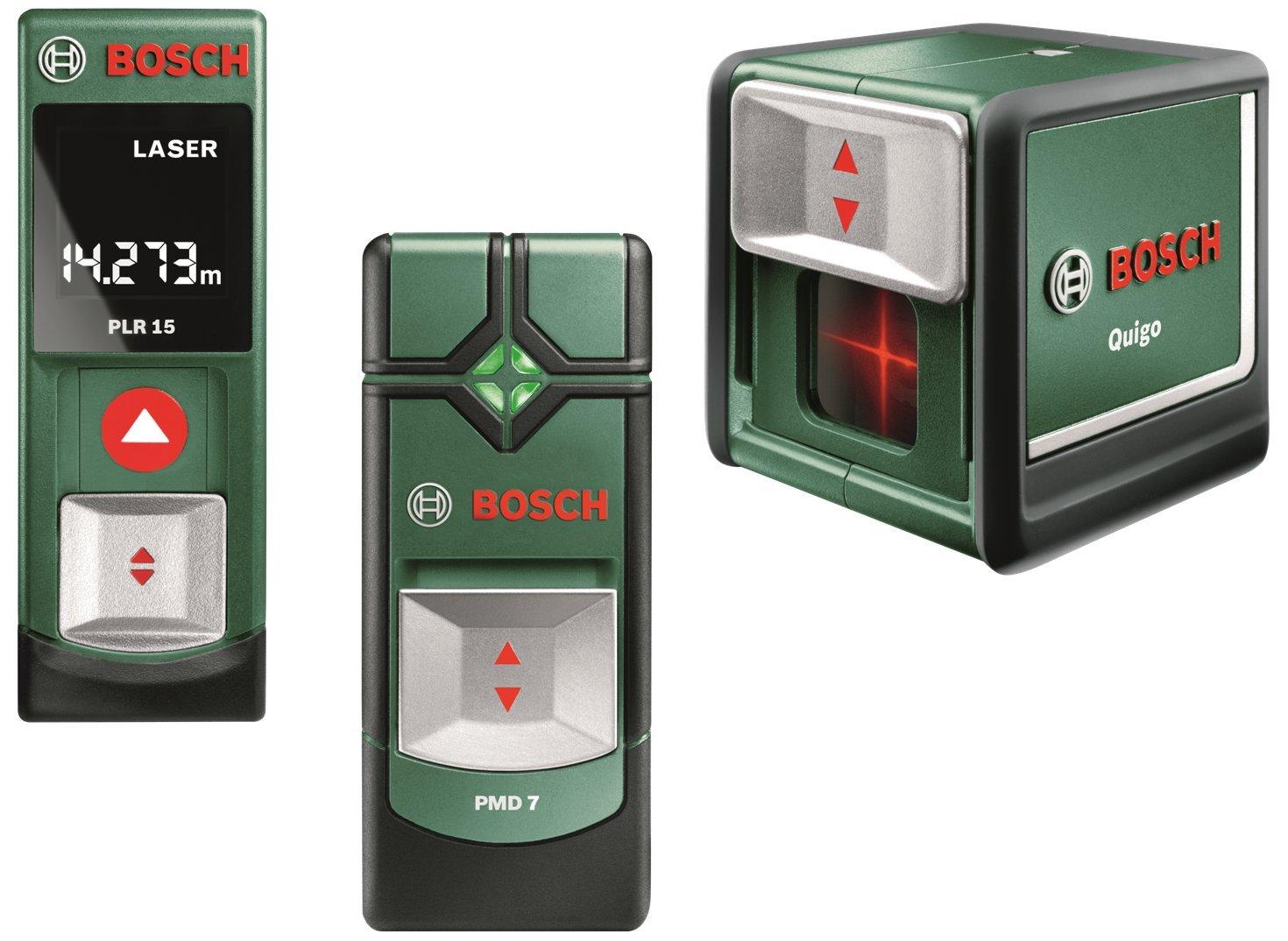 Bosch plr pmd und quigo v batterien aaa