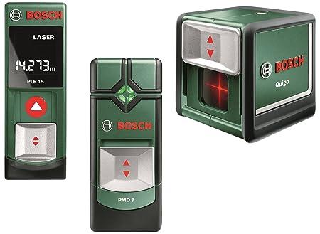 Bosch plr 15 pmd 7 und quigo 5x1 5 v batterien aaa