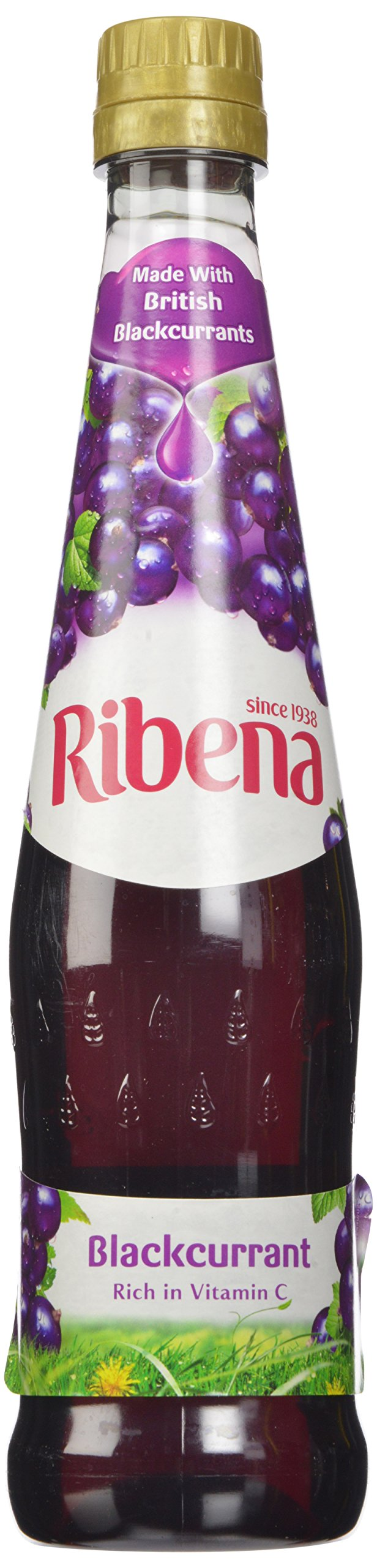Ribena Original Blackcurrant Drink, 600 ml Bottle (Pack of 12) by Ribena (Image #4)