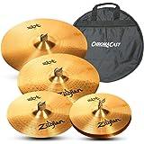 amazoncom zildjian complete cymbal set with hardware