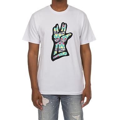 206db45f41 Amazon.com: Billionaire Boys Club Space Tribe Short Sleeve Tee in White  Black 881-4201 (White, 2XL): Clothing