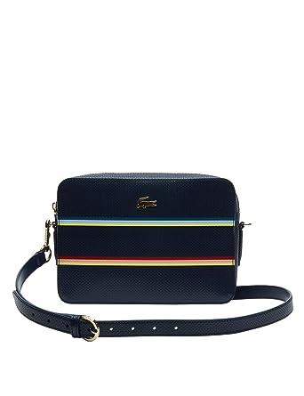 a9c419620e Lacoste Sac Chantaco Stripes Femme U Multicolore: Amazon.fr: Chaussures et  Sacs