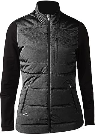Adidas Climawarm Full-Zip Quilted Chaqueta de Golf, Mujer: Amazon.es: Deportes y aire libre