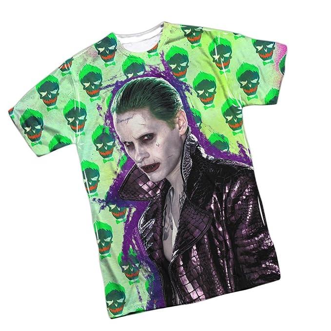 Joker chaqueta diseño de calavera - -Suicidio Squad ...