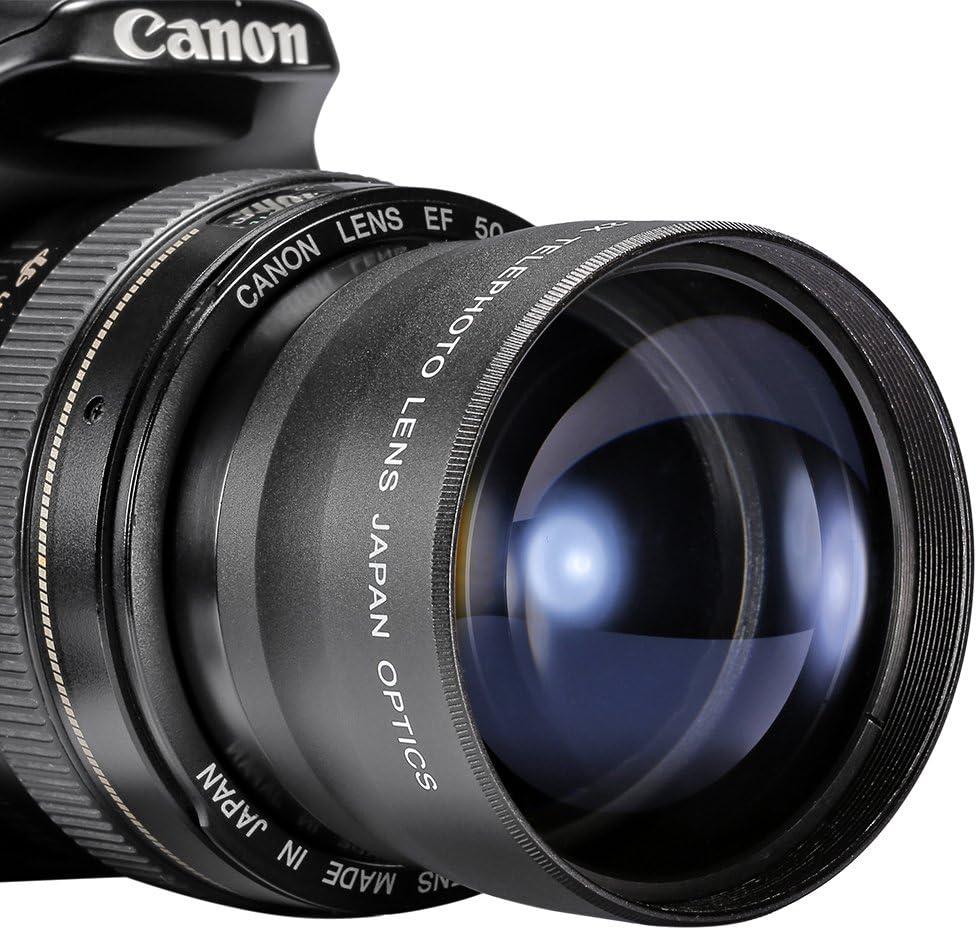 Neewer® 58mm 2X Telefoto lentes para Canon, Nikon, Olympus, Sony ...