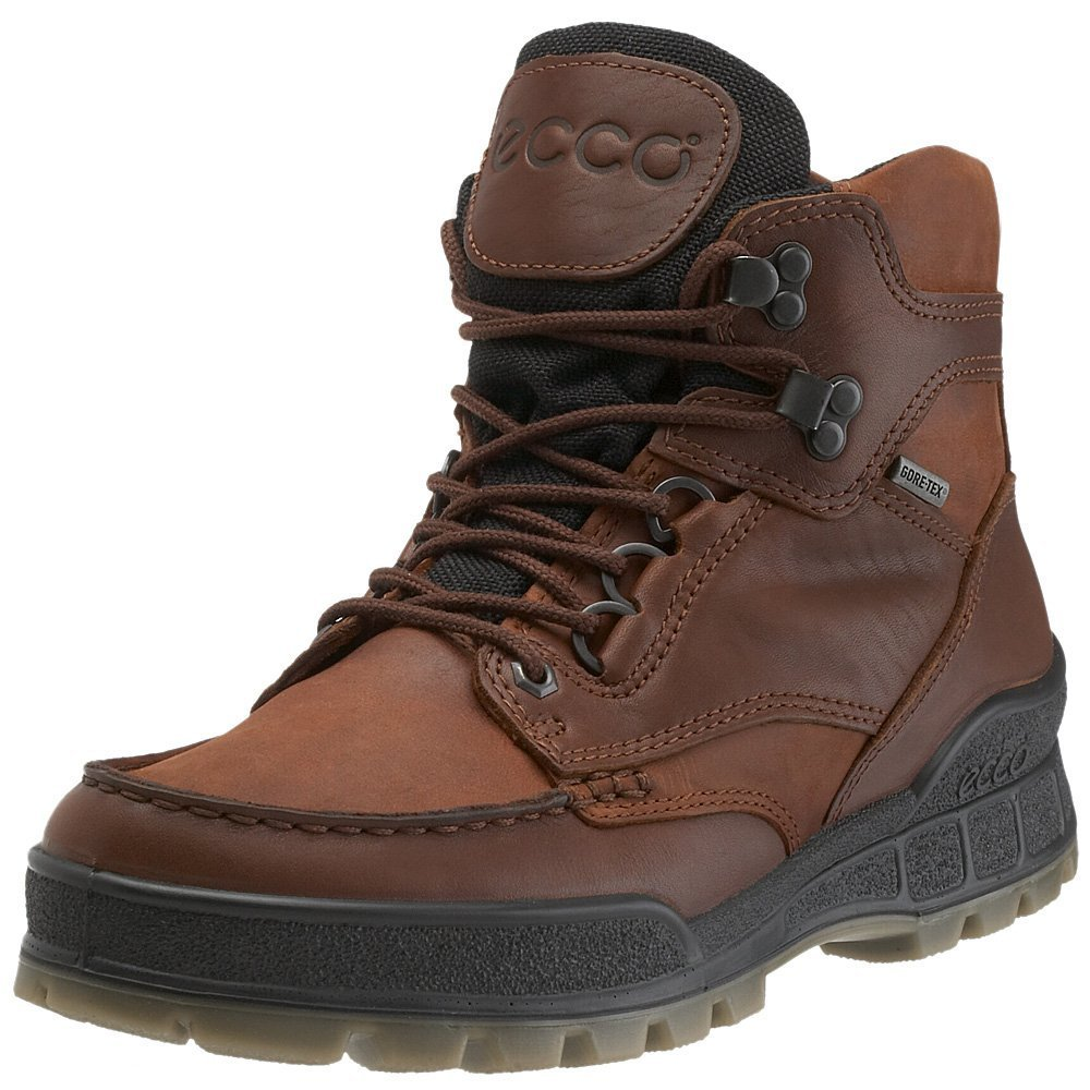 ECCO Men's Track II Mid Gore-Tex Boot,Bison,49 EU (US Men's 15-15.5 M) by ECCO (Image #1)