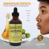 PURA D'OR Organic Jamaican Black Castor Oil