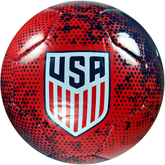 Icon Sports Group U.S Soccer USWNT Official Size 5 Soccer Ball White