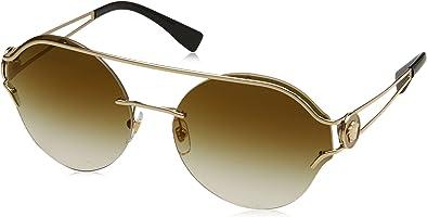 Versace Women's Manifesto Round Sunglasses