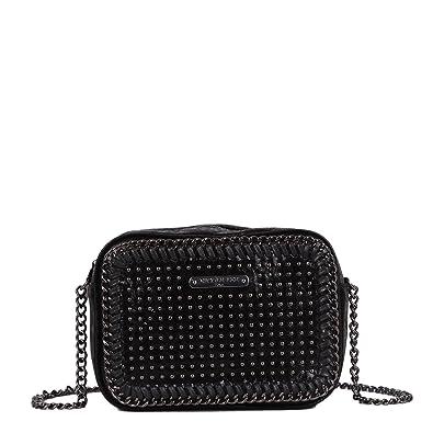 Square Metallic  Black  Chain Crossbody Bag  Handbags  Amazon.com 04f04fcc5e2cb