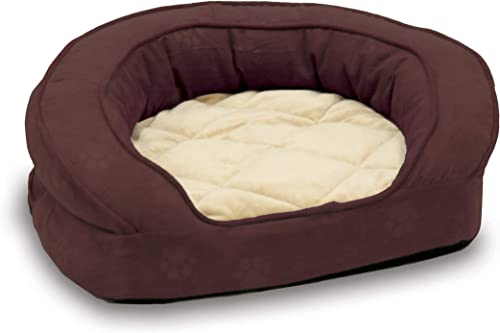 K&H-PET-PRODUCTS-Deluxe-Ortho-Bolster-Sleeper-Pet-Bed