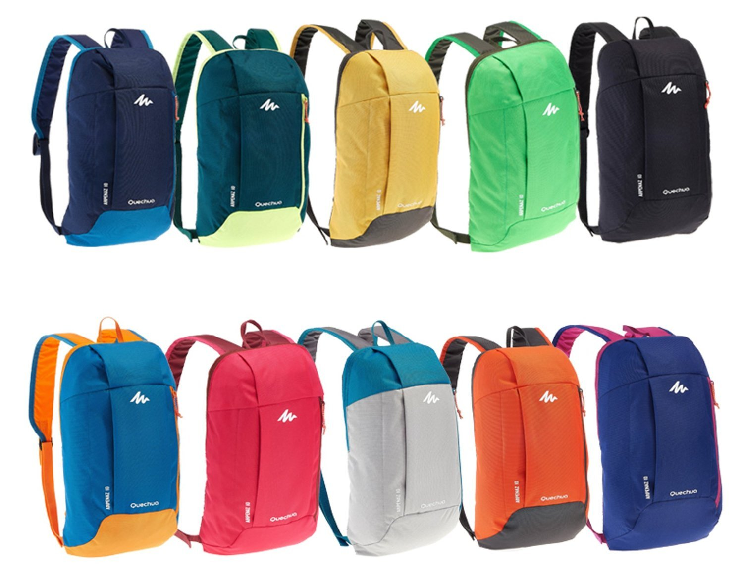 X-Sports Decathlon QUECHUA Kids Adults Outdoor Backpack Daypack . 3c2f043610ff3