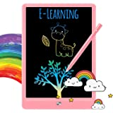 TEKFUN LCD Writing Tablet Doodle Board, 8.5inch Colorful Drawing Tablet Writing Pad, Girls Gifts Toys for 3 4 5 6 7 Year Old