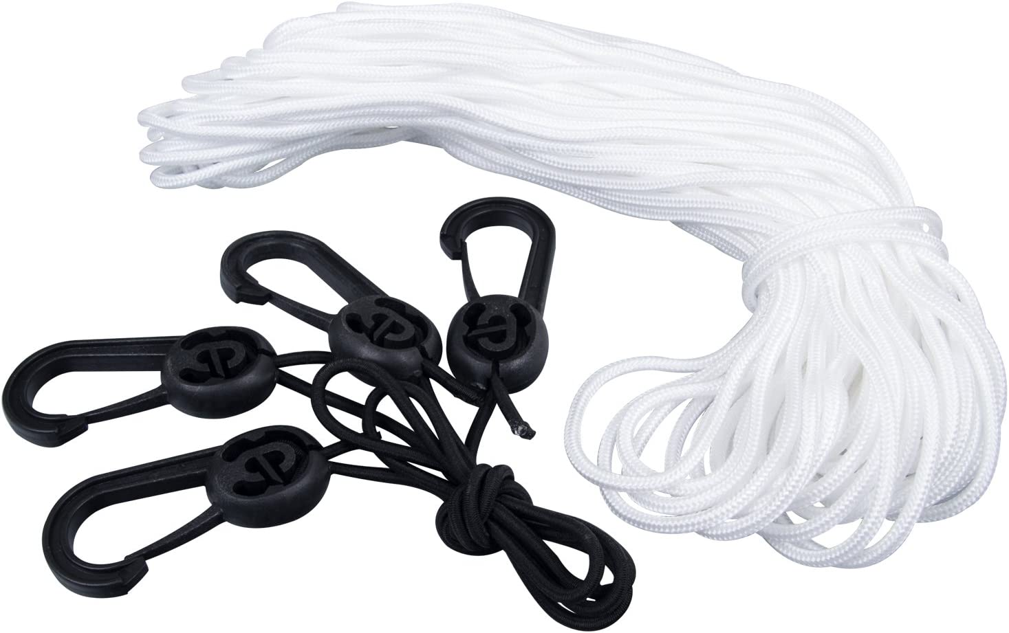 GOODSMANN Boat Cover Tie Down Kit Durable Tie Down Straps Rope /& Hook Accessory for 150D Series Boat Cover 9921-0221-01