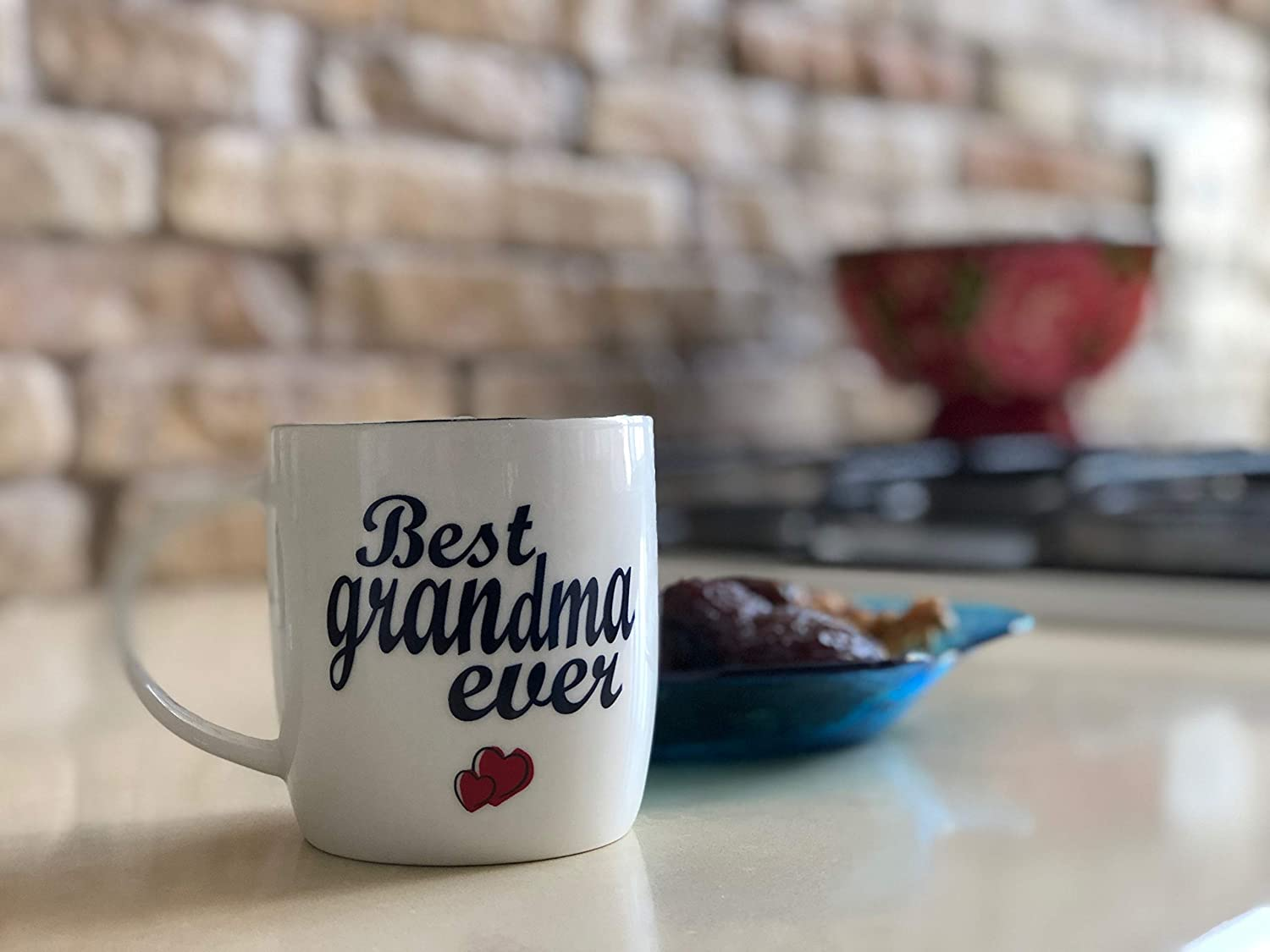 Perfect Christmas Day Presents 2 Set Gift Cups V1 Grandad Gifts Gifffted Grandparents Mugs Best Ever Grandma and Grandpa Coffee Mugs Gifts from Grandson or Granddaughter