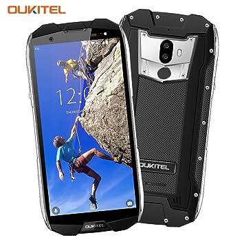 Smartphone Antichoc Etanche 4G, Oukitel WP5000 6+64Go Caméra 16+5MP,  Smartphone ae63ccfbb75