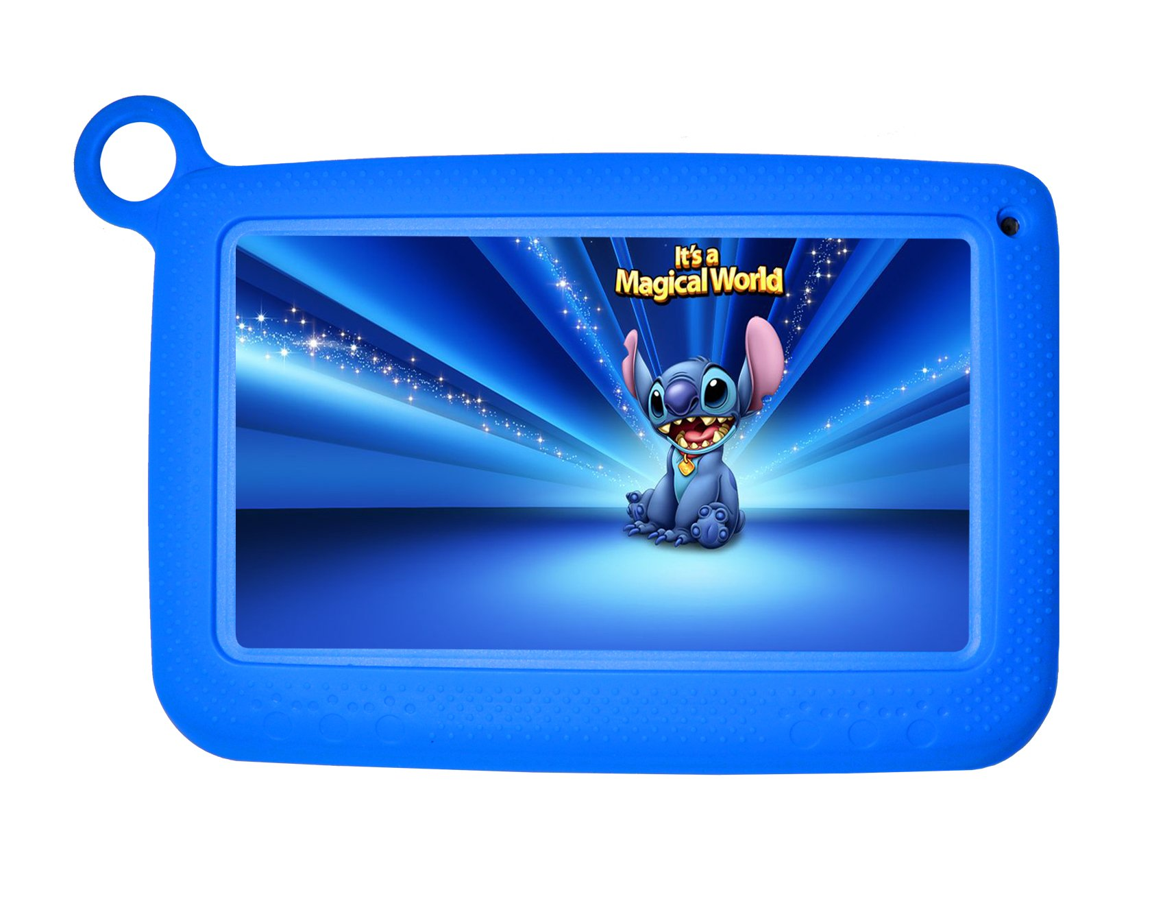 Kids Tablets Android5.1 7 Inch 1280x800 IPS Display 1GB RAM 8GB ROM with Parental Control Software - iWawa Wifi Camera 3D Game HD Video Supported TYD-716 (Blue)