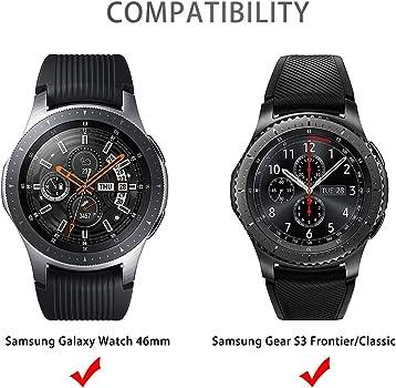 Aottom Compatible con Correa Samsung Galaxy Watch 46MM,Correas Samsung Gear S3 Frontier Banda 22MM Smartwatch Pulseras Repuesto Deporte Strap para Huawei Watch GT2/Amazfit GTR 47mm/Galaxy Watch 3 45mm: Amazon.es: Relojes