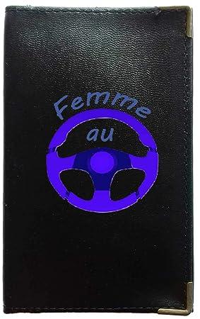 la moitié fb1fa 79feb Syl'la Femme du Volant Pochette Etui Protection Porte Carte ...