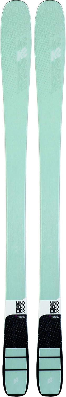 K2 Mindbender 85 - Pack de esquís con Fijaciones para Anillos 11 ID para Mujer, Color Azul