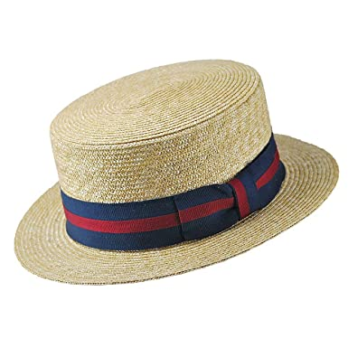 85ca239677109 Jaxon Striped Band Skimmer at Amazon Men s Clothing store  Hats