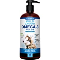 PetHonesty 100% Natural Omega-3 Fish Oil for Dogs from Iceland - Omega-3 for Dogs - Pet Liquid Food Supplement- EPA…