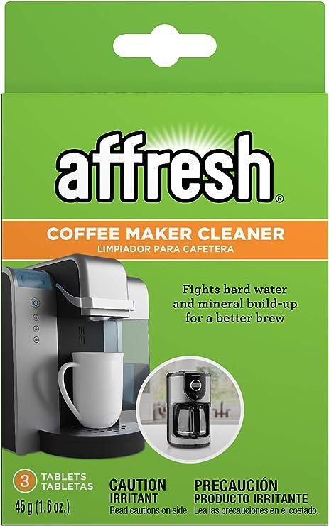 Affresh – Pastillas limpiadoras w10511280 cafetera limpiador ...