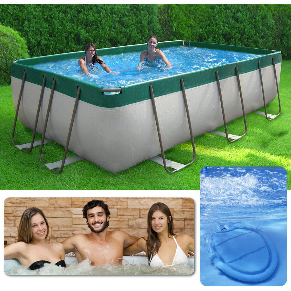 Piscina Spa fuera Terra 320 x 220 cm H100 CM New Plast Pool & Spa ...