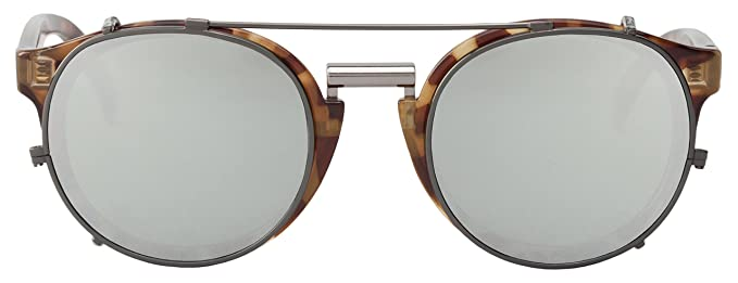MR.BOHO, High-Contrast tortoise newtown with silver lenses ...