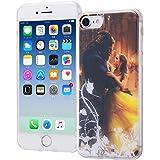 iPhone 7 ディズニー映画『美女と野獣』 / TPUケース + 背面パネル / 美女と野獣14