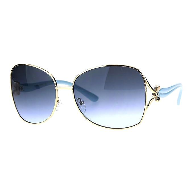 Amazon.com: Lazos – Gafas de sol Para Mujer Decor Square ...