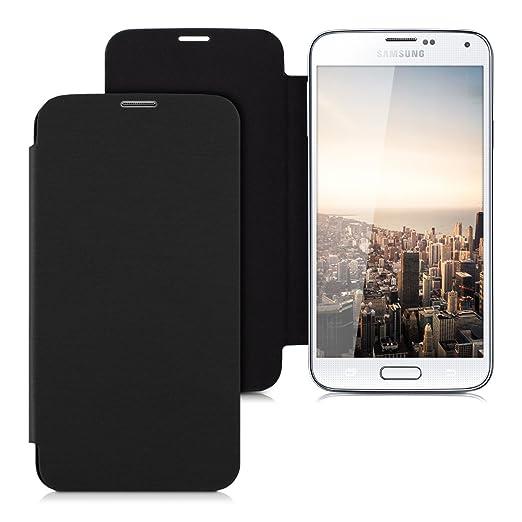 56 opinioni per kwmobile Cover per Samsung Galaxy S5 / S5 Neo- Custodia protettiva apribile a