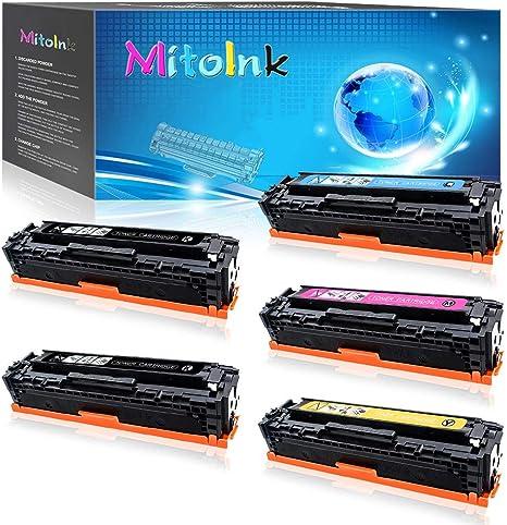 Amazon.com: MitoInk CE862A - Cartucho de tóner compatible ...