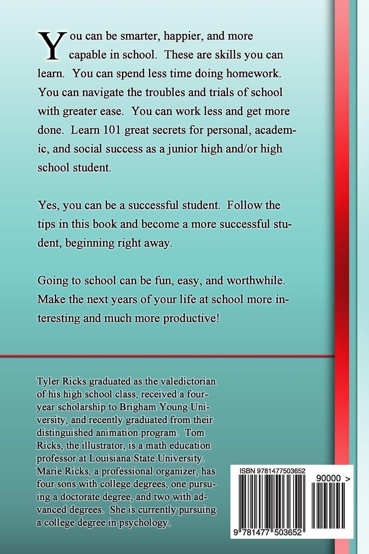 101 School Secrets: for Junior High and High School: Tyler Matthew ...