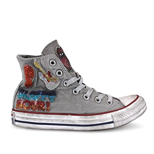 Converse Chuck Taylor All Star HI Chucks Scarpe Uomo Donna Sneaker pi far
