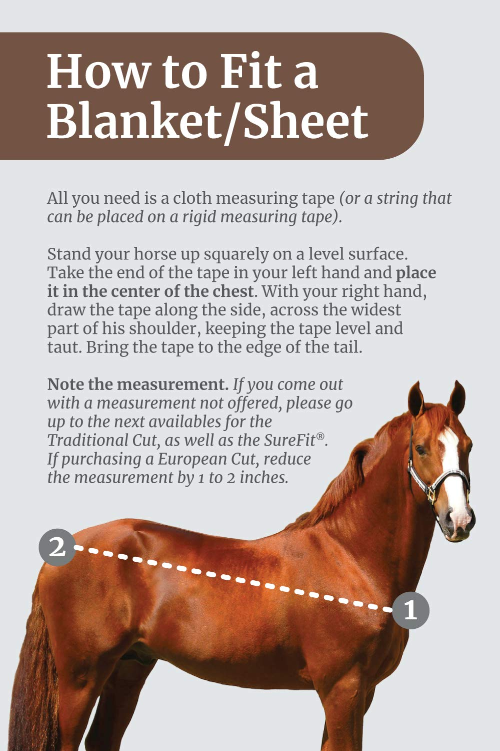 Kensington Platinum SureFit Protective Fly Sheet for Horses - SureFit Cut with Snap Front Chest Closure - Made of Grooming Mesh This Sheet Offers Maximum Protection Year Round - 81'' Deluxe Hunter by Kensington Protective Products (Image #3)