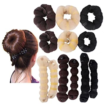 Amazon Hot Buns 2pcsset1 Large 1 Small Hair Elegant Magic