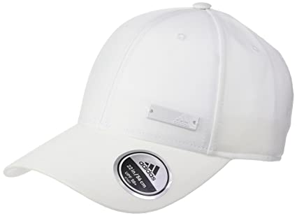 adidas 6P Ltwgt Met Gorra mujer, Blanco (White/Black), Talla única