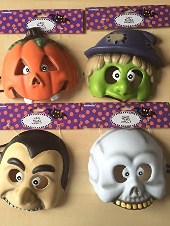 Halloween Kindergeburtstag.4 Masken Halloween Kids Fur Kindergeburtstag Oder