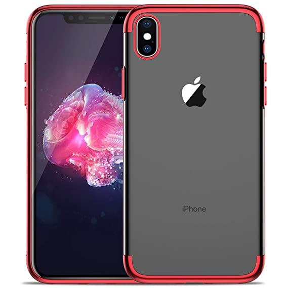 watch 1cd67 877c2 iPhone Xs Max case, KuGi iPhone Xs Max case, [Shock/Scratch Absorption  Protection] Ultra-Thin Flexible Rubber Soft TPU Bumper Case for iPhone Xs  Max ...
