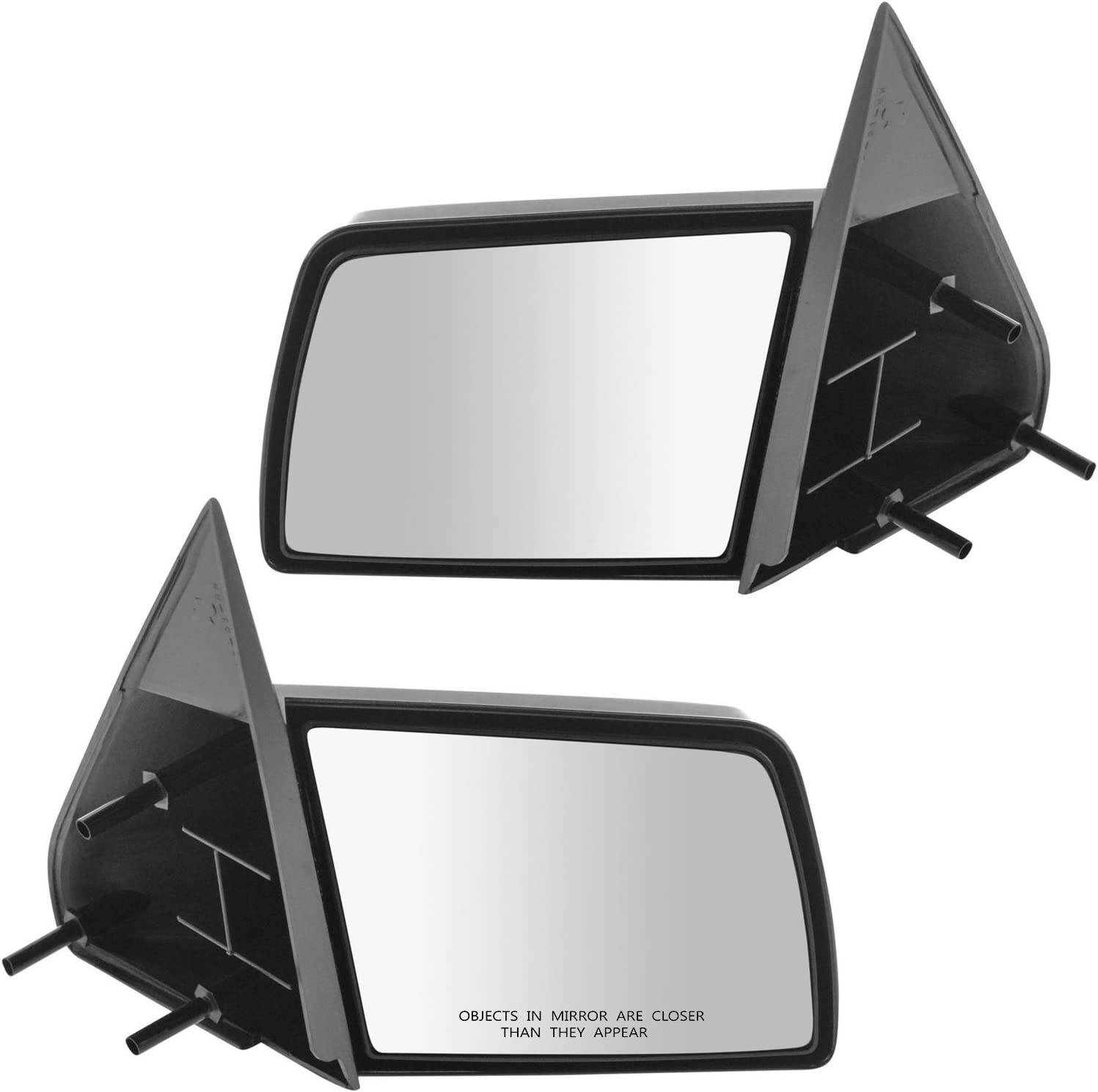 Chevy Silverado Pickup Truck Manual Rear View Mirror Left /& Right Side Set PAIR